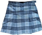 Burberry Multicolour Cotton Skirt