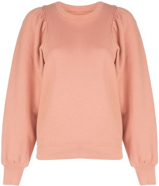 Citizens of Humanity Mari Racer puff-sleeves sweatshirt