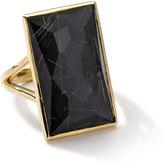 Ippolita Rock Candy Gelato 18k Quartz & Hematite Baguette Ring, Size 7