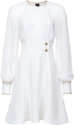 Pinko Puff-Sleeve Flared Dress