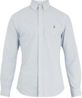Polo Ralph Lauren Slim-fit striped oxford-cotton shirt