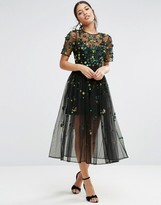 Asos Embellished Smock Dress