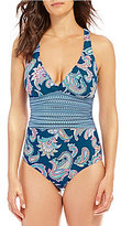 Alex Marie Spring Paisley One Piece