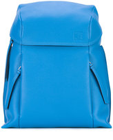 Loewe embossed logo backpack - men - Leather - One Size