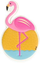 Anya Hindmarch flamingo sticker