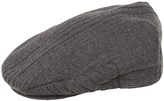 Weatherproof Acrylic Knit Driving Cap - Ribbed (For Men)