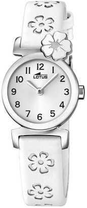Lotus Girls Analogue Classic Quartz Watch with Leather Strap 18174/1