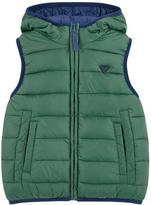 Mayoral Reversible sleeveless padded jacket