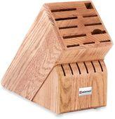 Wusthof 17-Slot Oak Wood Knife Block