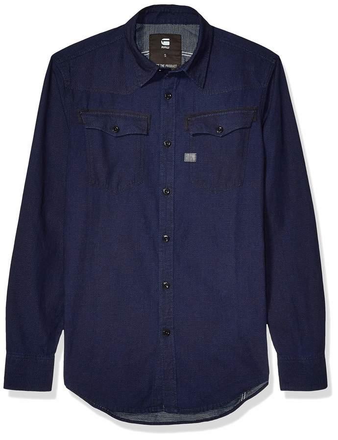 G Star Men's 3301 Shirt L/s