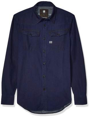 G Star Men's 3301 Shirt L/s