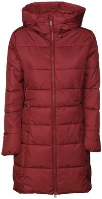 Save The Duck Long Zip Padded Jacket