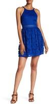 Amy Byer A. Byer Sleeveless Lace Skater Dress (Junior)