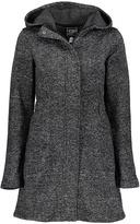 CB Sports Black Heather Jacquard Fleece Long Jacket