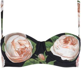 Dolce & Gabbana Floral Balconette Bikini Top