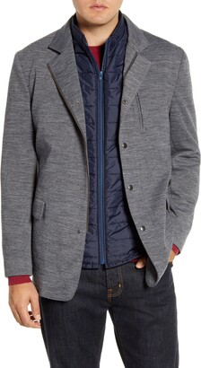 Rodd & Gunn Wyndward Water Resistant Sport Coat with Removable Quilted Vest