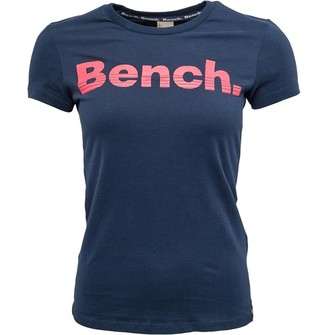 Bench Womens Mirage T-Shirt Navy