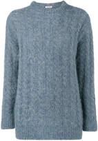 Miu Miu oversized cable knit sweater