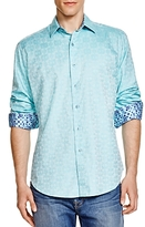 Robert Graham Cullen Damask Classic Fit Button-Down Shirt