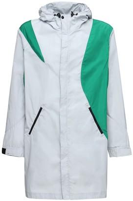 Asics Kiko Hooded Color Block Long Jacket