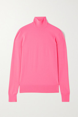 Bottega Veneta Knitted Turtleneck Sweater - Pink