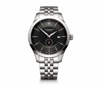 Victorinox Alliance Swiss-Quartz Watch with Stainless-Steel Strap Silver 21 (Model: 241762)