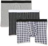 New Look Men's Mono Check Boxer Briefs