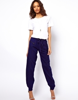 ASOS Pants with Tape Detail.