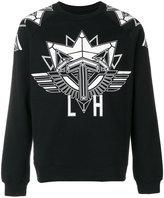 Les Hommes printed motif sweatshirt