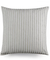 "Hotel Collection Modern Geo Stripe Braided 20"" Square Decorative Pillow"
