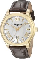 Salvatore Ferragamo Men's FQ1910015 Lungarno Gold Ion-Plated Stainless Steel Watch