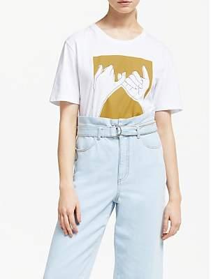 Gestuz Pinky T-Shirt, White