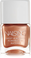 Nails Inc Sweet Almonds Powered By Matcha Nail Polish - Mayfair Market Mews