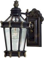 Minka Lavery Stratford HallTM 1-Light Wall-Mount Outdoor Lantern in Heritage Gold