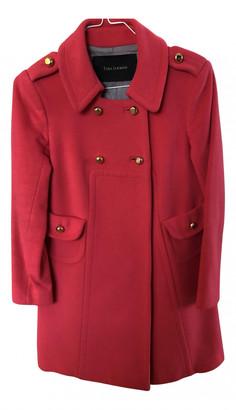 Tara Jarmon Pink Wool Coats