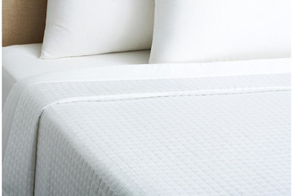 Belle Epoque Cotton Quilted Coverlet - White Queen