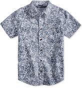Tommy Hilfiger Batik-Print Cotton Shirt, Big Boys (8-20)