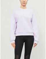 adidas Branded cotton-jersey sweatshirt