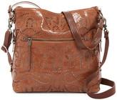 The Sak Sanibel Leather 2-Tone Bucket Bag
