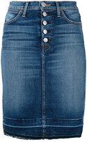 Hudson Remi pencil skirt - women - Cotton/Polyurethane - 25