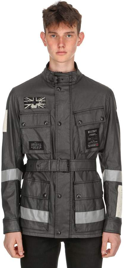 Belstaff Trialmaster Tt Waxed Cotton Jacket