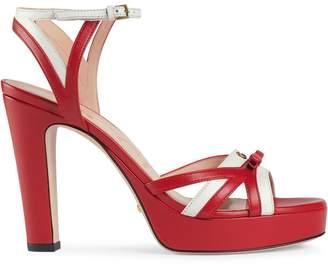 Gucci Strappy Platform Sandals