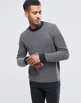 French Connection Geo Lamb Sweater