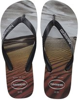 Havaianas Hype Photo Print Black Steel Black Men's Flip Flops All Sizes
