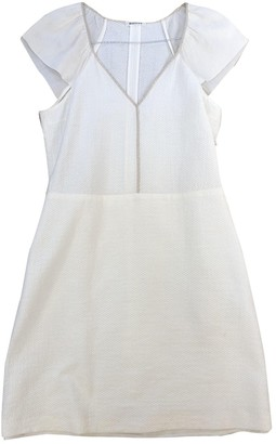 Masscob Ecru Cotton Dress for Women