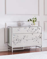 John-Richard Collection Francene Eglomise Three-Drawer Chest