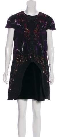 Alexander McQueen Printed Mini Dress w/ Tags