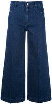 Stella McCartney flared jeans - women - Cotton/Spandex/Elastane - 26