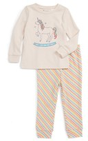 Tucker Infant Girl's + Tate Fitted Two-Piece Pajamas