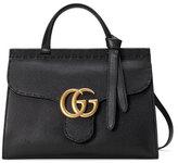 Gucci GG Marmont Small Top-Handle Satchel Bag, Black